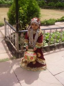 My baby turns Kashmiri