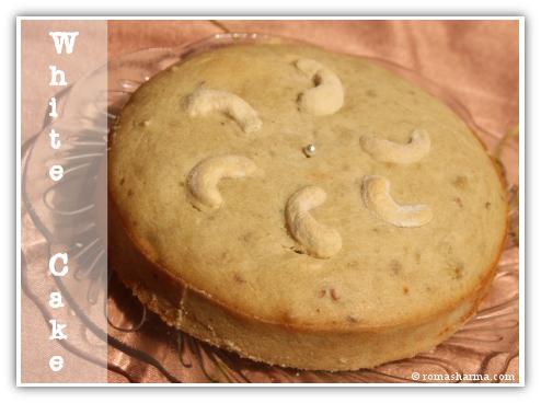 Cashew White Cake