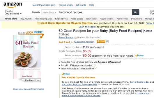 Book review romas space indian baby food recipes on friday forumfinder Choice Image