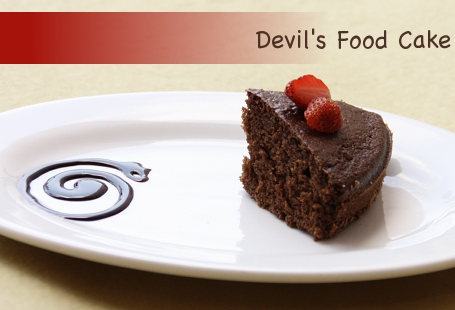 ... cake is called devil s food cake it s simply sinful it s made with
