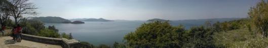 Bhadravati reservoir