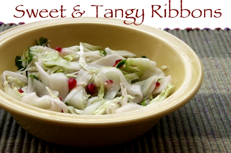 Sweet & Tangy Ribbon Salad